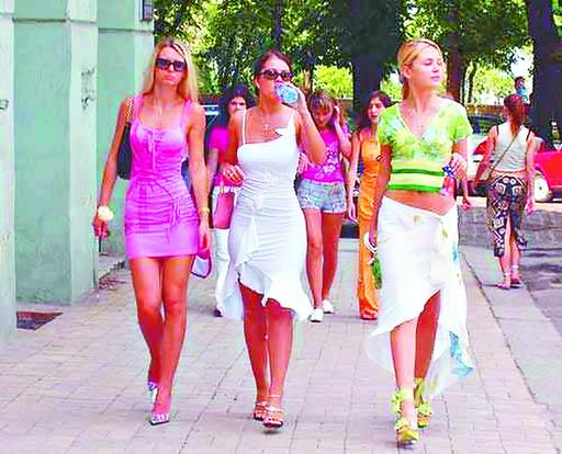 乌克兰基辅傲居全球美女之都榜首