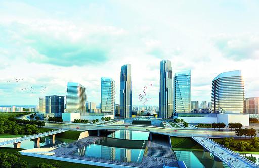 淇水湾商务区城市设计公布即日起至7月24日征集市民