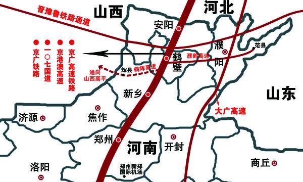 【中国】晋豫鲁铁路通道_地图看世界山寨版_新浪博客