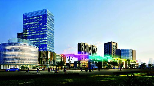 高铁城市生活广场综合体项目效果图