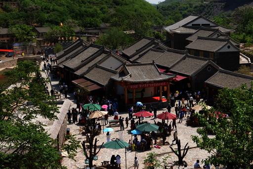淇县灵山街道赵庄村乡村旅游形势越来越好村民不等不
