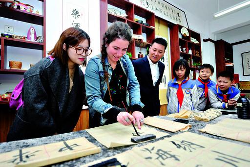 加拿大哈利法克斯语言学院执行校长排名鹤壁科高中天津到访2015图片